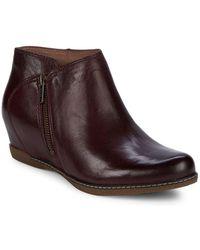 Dansko - Leyla Leather Bootie - Lyst