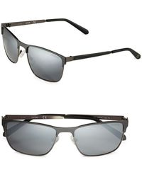 Guess - 57mm Square Sunglasses - Lyst