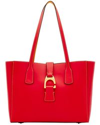 Dooney & Bourke - Shannon Leather Tote - Lyst