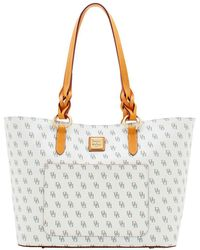 Dooney & Bourke - Blakely Tammy Leather Tote - Lyst