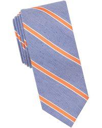 Tallia Orange - Irving Striped Tie - Lyst