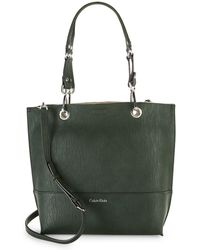 CALVIN KLEIN 205W39NYC - Reversible Faux Leather Tote - Lyst