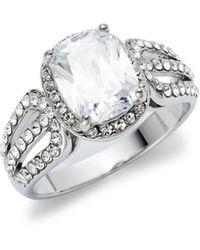 Michela - Crystal Fancy Ring - Lyst