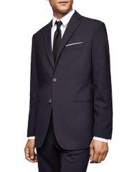 Mango - Slim-fit Wool Suit Jacket - Lyst