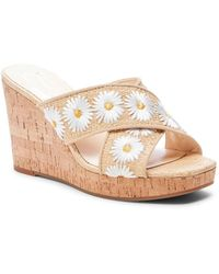 Jessica Simpson - Seena 2 Embroidered Slip-on Wedges - Lyst