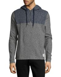 Lucky Brand - Heathered Cotton Hoodie - Lyst