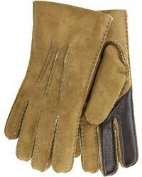 UGG - Contrast Gloves - Lyst