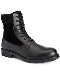 CALVIN KLEIN 205W39NYC - Men's Gable Leather Casual Boots - Lyst