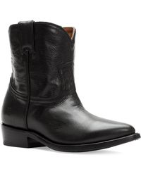 Frye - Billy Short Leather Boots - Lyst