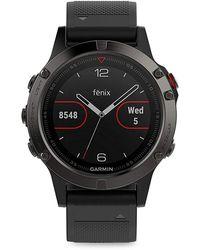 Garmin - Fenix 5s Silicone-strap Smart Watch - Lyst