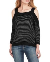 44751db364e Jessica Simpson - Knit Cold-shoulder Pullover - Lyst