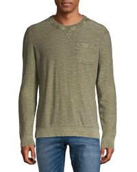 Lucky Brand - Welter Weight Heathered Cotton Top - Lyst