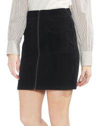 Vince Camuto - Estate Jewels Corduroy Mini Skirt - Lyst