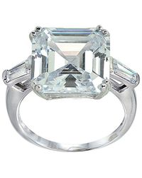 Lord + Taylor - Cubic Zirconia Square Ring - Lyst