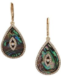 Lonna & Lilly - Crystal-embellished Drop Earrings - Lyst