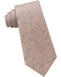 Calvin Klein - Botanical Silk Tie - Lyst