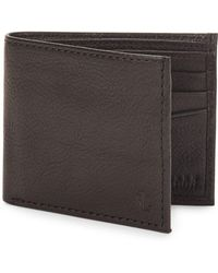 Lauren by Ralph Lauren - Oil Milled Leather Billfold - Lyst