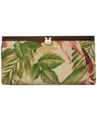 Patricia Nash - Cuban Tropical Cauchy Leather Wallet - Lyst