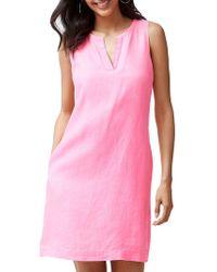 Tommy Bahama - Seaglass Linen Shift Dress - Lyst