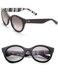 Kate Spade - Melly 53mm Round Sunglasses - Lyst