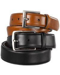 Lauren by Ralph Lauren - Genuine Leather Dress Belt - Lyst