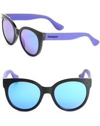 Havaianas - Noronha 52mm Round Sunglasses - Lyst