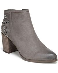 Fergie - Beaded Leather Booties - Lyst
