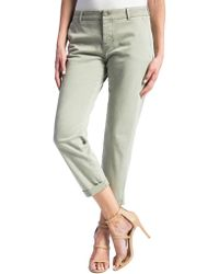 Liverpool Jeans - Billy Trouser Rolled-cuff Cropped Jeans - Lyst