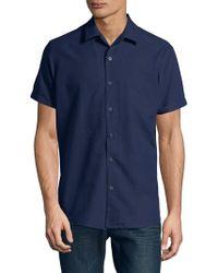 SELECTED - Cuban Sunshine Button-down Shirt - Lyst