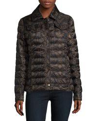 Pendleton - Short Puffer Coat - Lyst