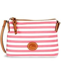 Dooney & Bourke - Sullivan Striped Crossbody Pouchette - Lyst
