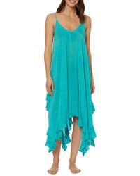 Bleu Rod Beattie - Bleu By Rod Beattie Handkerchief Hem Cover-up Dress - Lyst