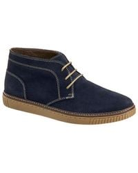 Johnston & Murphy - Wallace Water-resistant Suede Chukka Boots - Lyst
