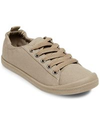 Lord & Taylor - Beret Textured Lace-up Sneakers - Lyst
