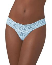 Hanky Panky - Bridal I Do Low Rise Thong - Lyst