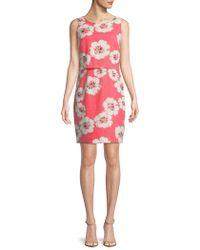 Ivanka Trump - Floral Popover Dress - Lyst