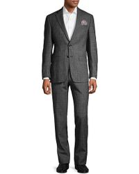 Tallia Orange - Glen Plaid Wool Suit - Lyst