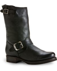 Frye - Veronica Leather Shortie Boots - Lyst