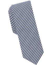 Original Penguin - Striped-print Slim Tie - Lyst