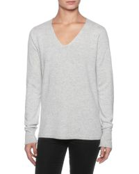 Magaschoni - V-neck Cashmere Sweater - Lyst
