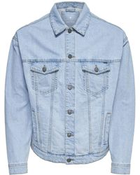 Only & Sons Oversized Denim Jacket