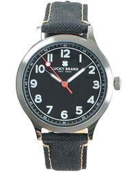Lucky Brand - Jefferson Stainless Steel & Strap Watch - Lyst