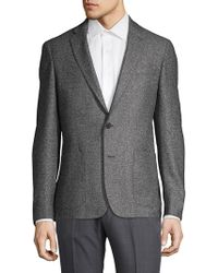 Michael Kors - Textured Wool & Silk Sportcoat - Lyst