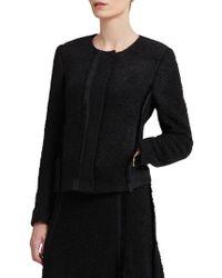 Donna Karan - Textured Blazer Jacket - Lyst