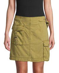 Free People Erika Utility Skirt - Green