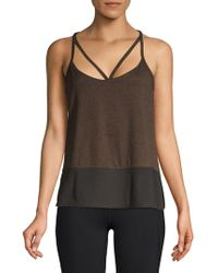 Betsey Johnson - Double Strap Tank Top - Lyst