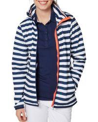 Helly Hansen - Naiad Striped Long-sleeve Jacket - Lyst