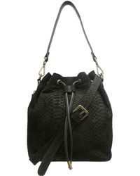 Chinese Laundry - Ally Suede Bucket Crossbody Bag - Lyst