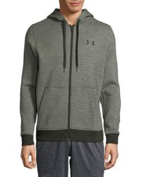 Under Armour - Midweight Full Zip Fleece Hoodie - Lyst