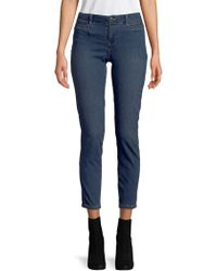 Free People - Low Slung Cropped Jeans - Lyst